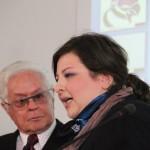 Premiazione. Miano Palazzo Reale, 9 aprile 2013 - Carla Primiceri e Roberto Capucci