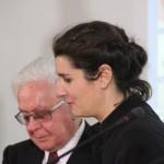 Premiazione. Milano Palazzo Reale, 9 aprile 2013 - Margherita Marchioni e Roberto Capucci