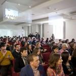 Milano Palazzo Reale, 9 aprile 2013 - La sala delle conferenze