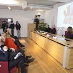Premiazione. Milano Palazzo Reale, 9 aprile 2013 - In prima fila i membri della giuria