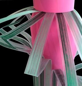 particolare fili di seta